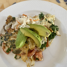 Super Breakfast Omlette