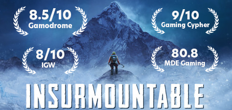 Insurmountable is OUT NOW on Steam!
