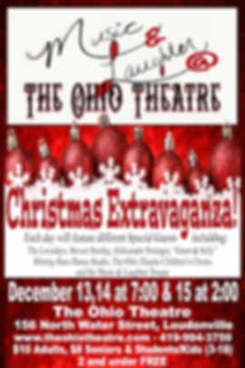 Music & Laughter Christmas Extravaganza