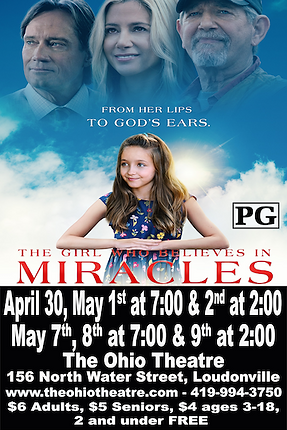 The Girl Who Believes In Miracles WEBSIT