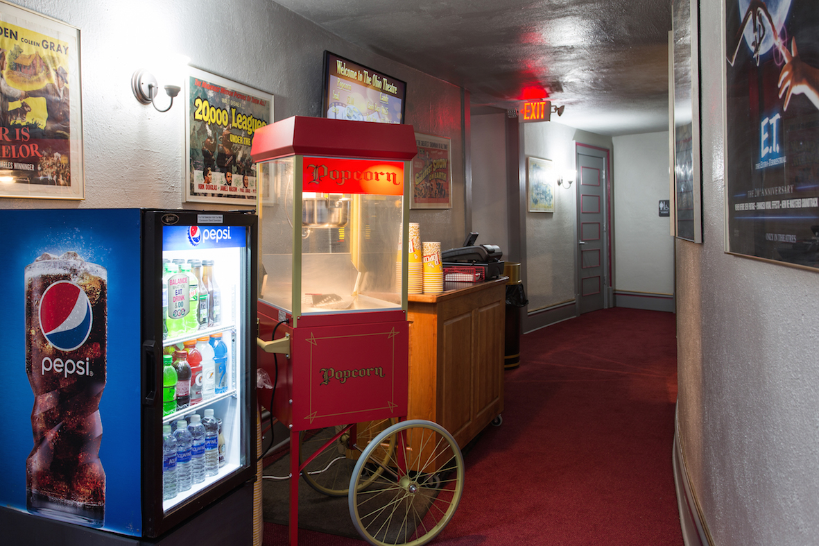 Upstairs Concession Area