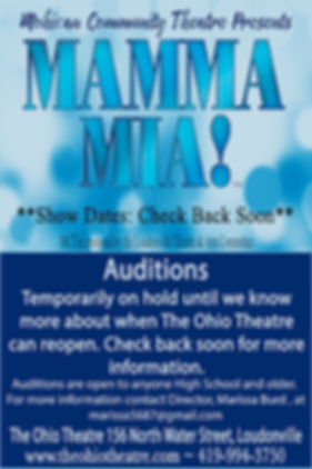 Mamma Mia Auditions On Hold.png