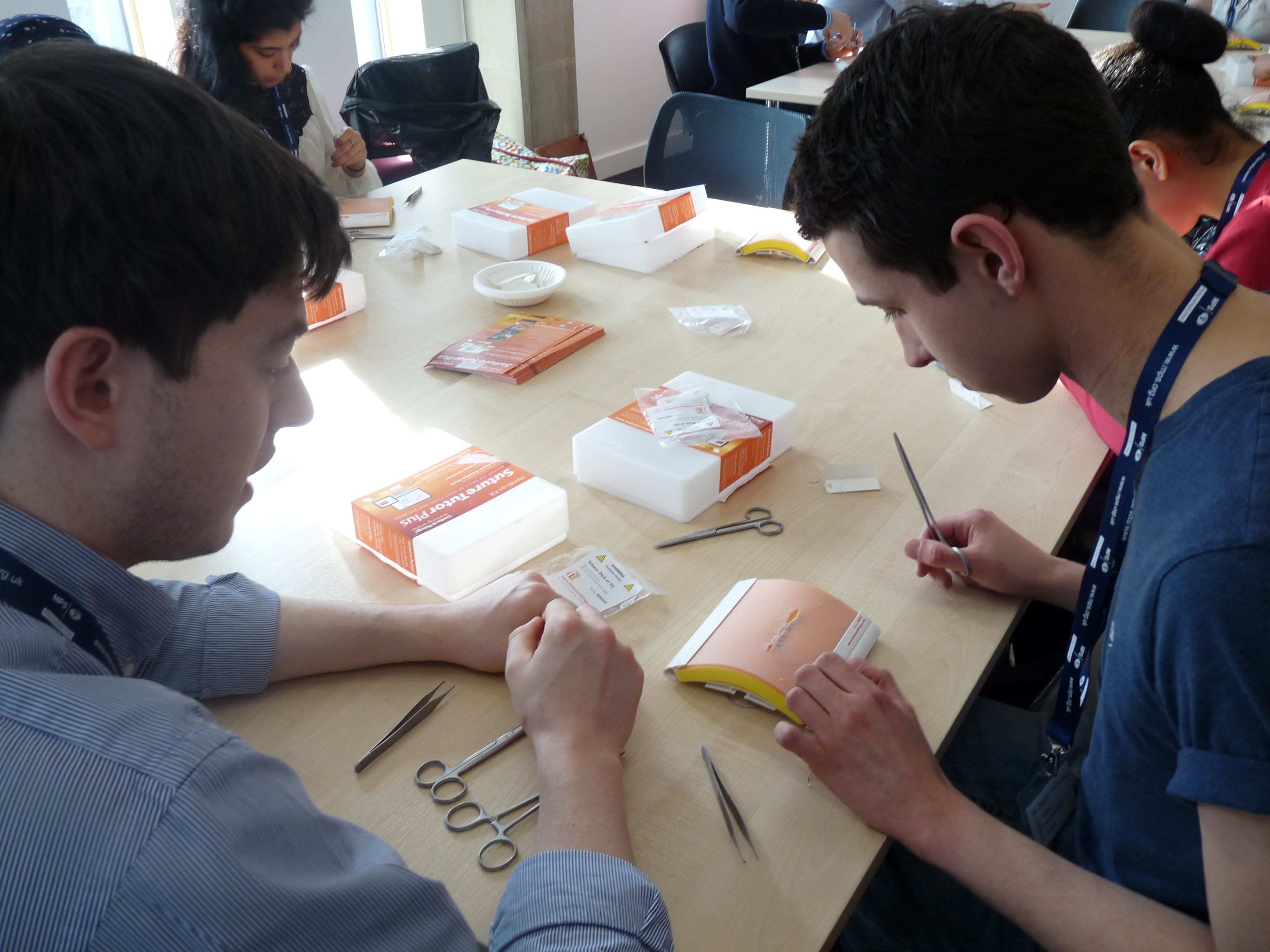Suturing workshop