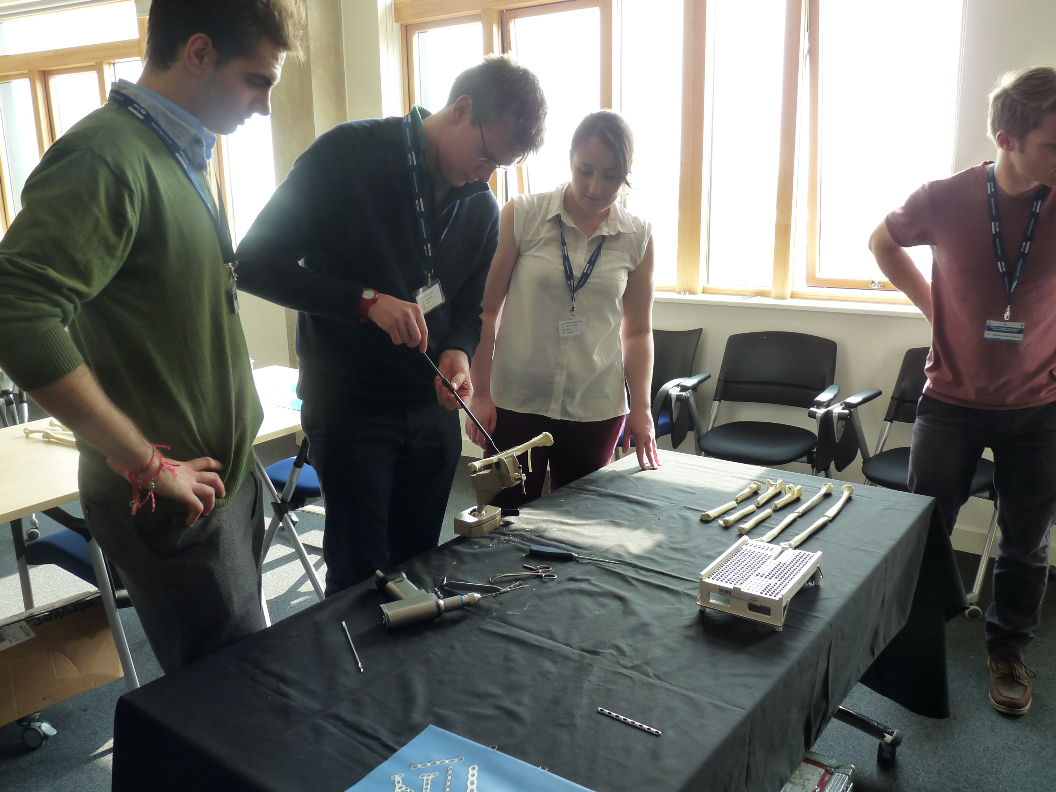 External bone fixation workshop