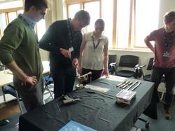 External bone fixation workshop