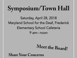 MDAD Symposium 2018