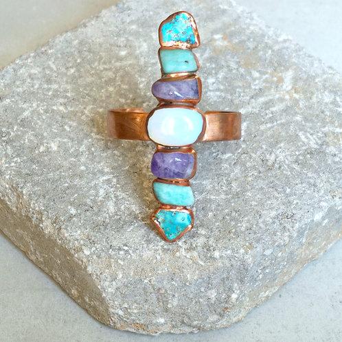 Curacao Cuff - 7 stone options