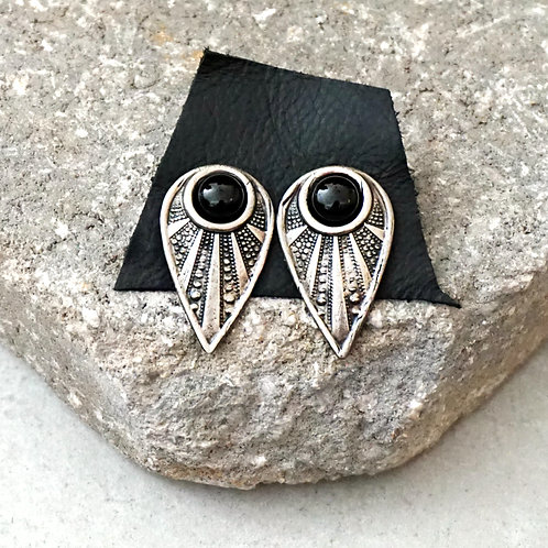 Lead The Way Earrings - 2 stones and metal options available