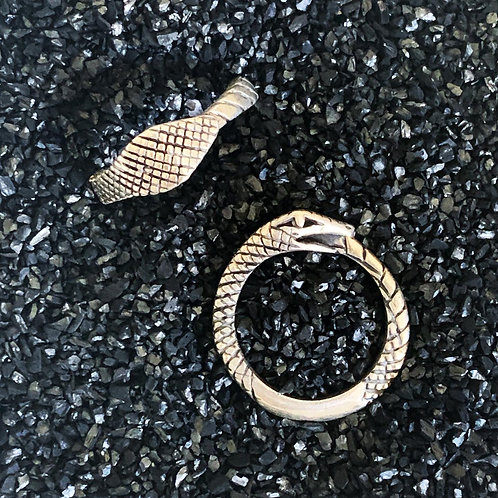 Ouroboros Wrap Ring