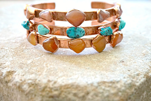 Over The Horizon Cuff - Turquoise RTS