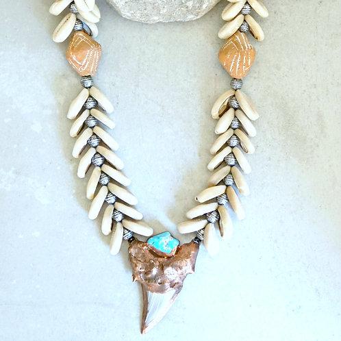 Otodus Necklace - 3 stone options