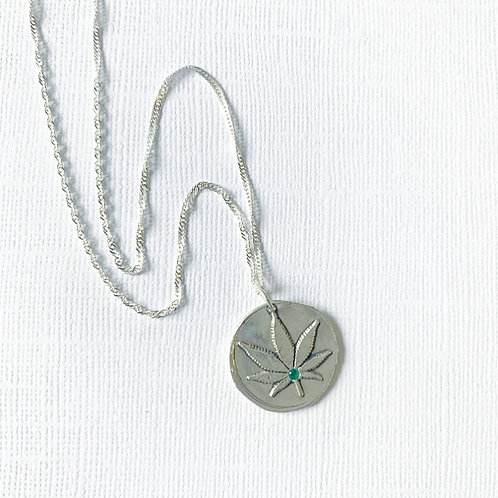 Leafy Greens necklace