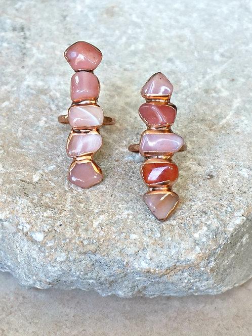 Flatlands Ring - 3 stone options