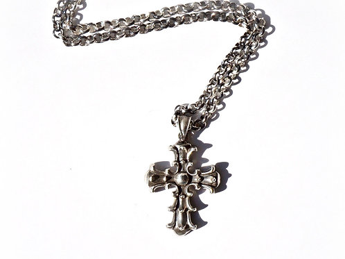Unisex Ancient Cross Necklace