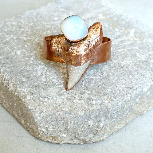 Otodus Cuff - 3 stone options