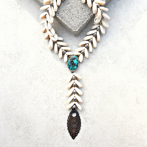 Siren Necklace - 2 stones available