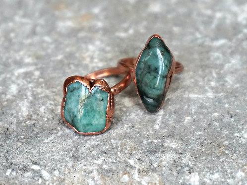 Gemstone Electroform Rings - 3 stones options