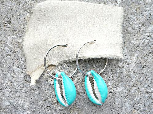 She Sells Sea Shells earrings - 4 color available