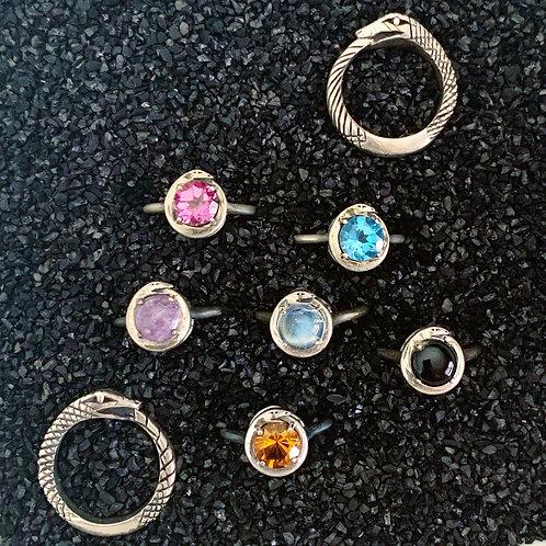 Ouroboros Stone Ring