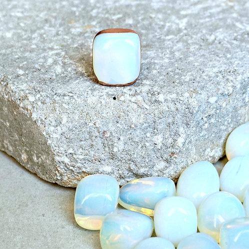 Opalite Single Stone Ring