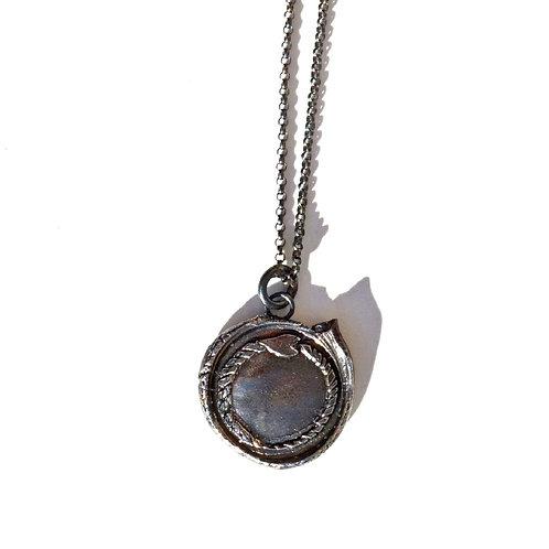 Ouroboros Wax Seal Stamp Necklace
