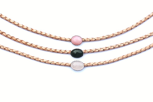 Sugaree Choker - Rose Quartz RTS