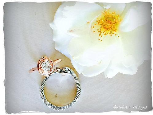 Ouroboros Wedding Ring Set
