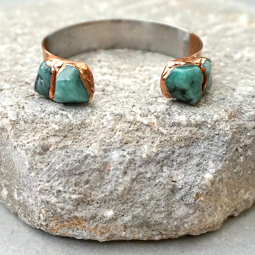 Bottlerock Cuff (skinny) - 4 gemstone options available