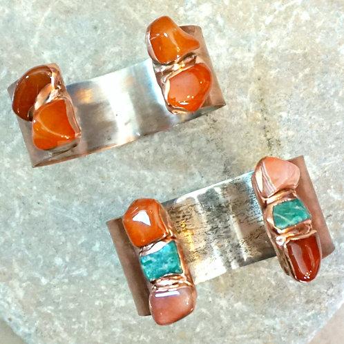 Bottlerock Cuff (Medium) -5 stone options