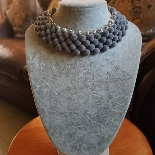 Multi-layered Pearl Necklaces