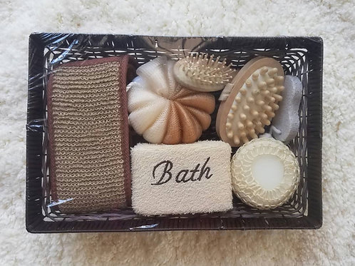 "Bath set,14""long, 9.5""wide"