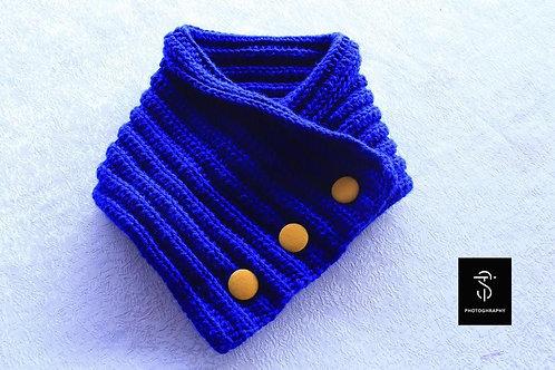 Crocheted neck warmers