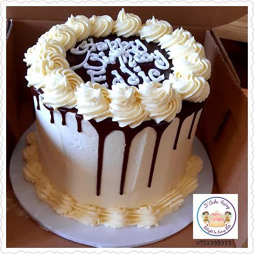 20cm/1.5kg/8' Butter cream cake