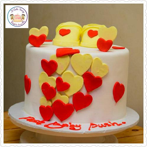 24cm/2.5kg/10' Fondant cake