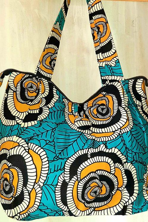 Kitenge-gunia hand bag
