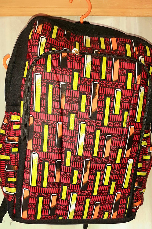 Kitenge school bag