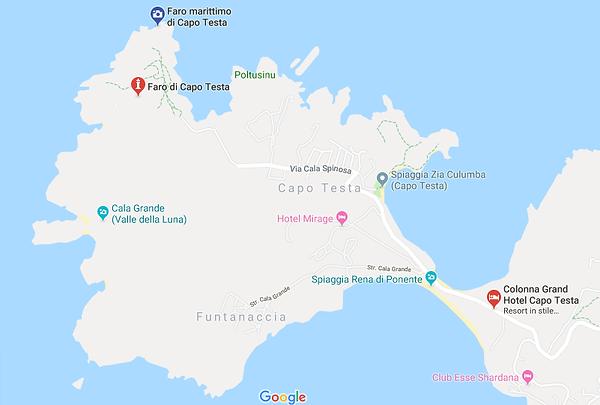 Capo Testa Map.png