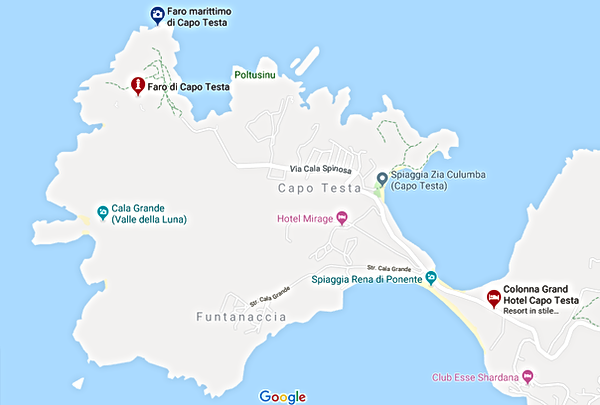 Capo Testa Map.png