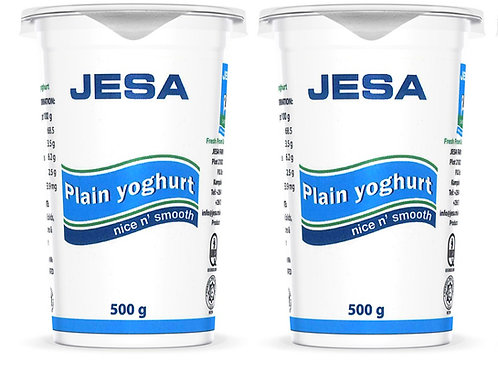 Jesa plain yoghurt