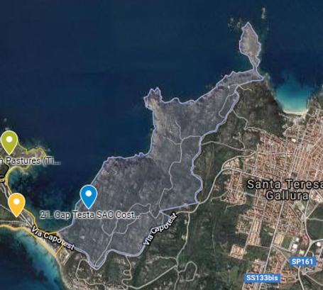 Coasta Maestrale map.png