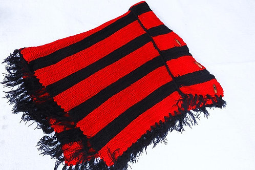 Crochet Red scarf