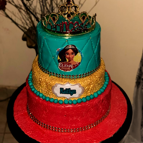 3 tier Character Cake