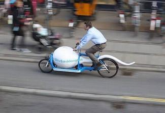 Le vélo officiel de la banque du sperme au Danemark !