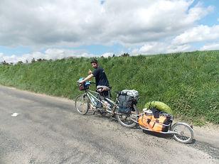 Avenue verte, Voyage, vélo, tandem, cyclotourisme, cyclocamping, normandie