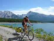 Voyage, vélo, tandem, destination, arrivée