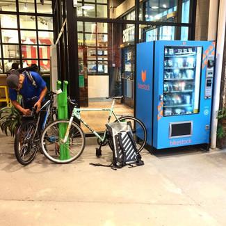 Des distributeurs pour vélo !