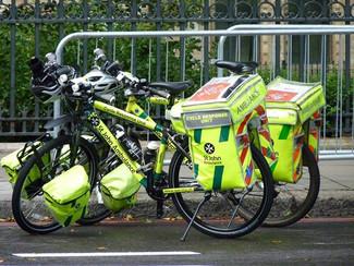 Les ambulances lors des jeux olympiques de Londres !