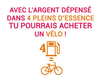 Voiture ou vélo ? N'hésitez plus !