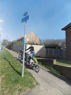 Avenue verte, Voyage, vélo, tandem, cyclotourisme, cyclocamping, newhaven, brighton