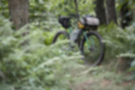 Voyage, bike packing, sacoches, france